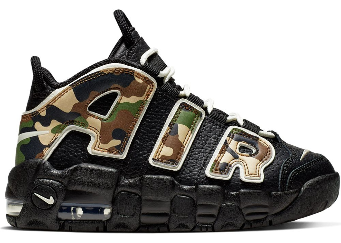 Qualunque manica Petizione  Nike Air More Uptempo 96 Camo (PS) - CJ0931-001