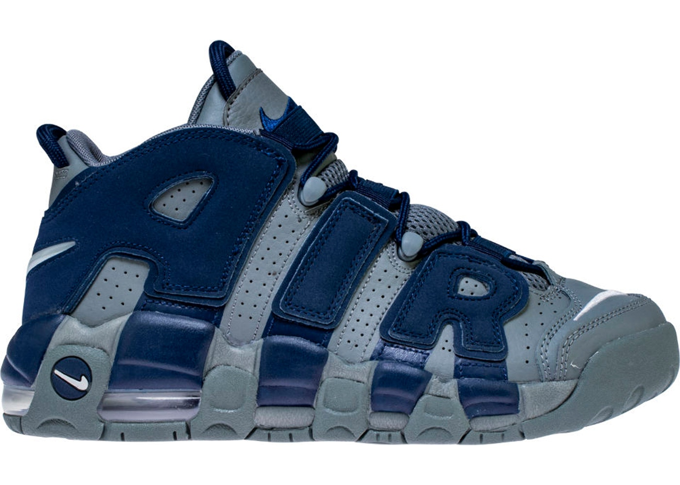 9efa89462031d Air More Uptempo 96 Cool Grey Midnight Navy (GS) - 415082-009