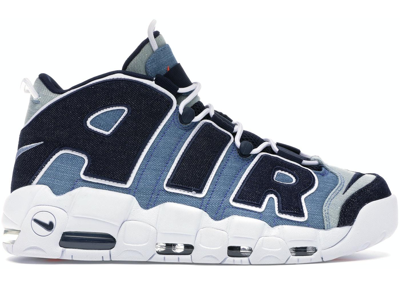 Cuerda exprimir Haciendo  Nike Air More Uptempo 96 Denim - CJ6125-100