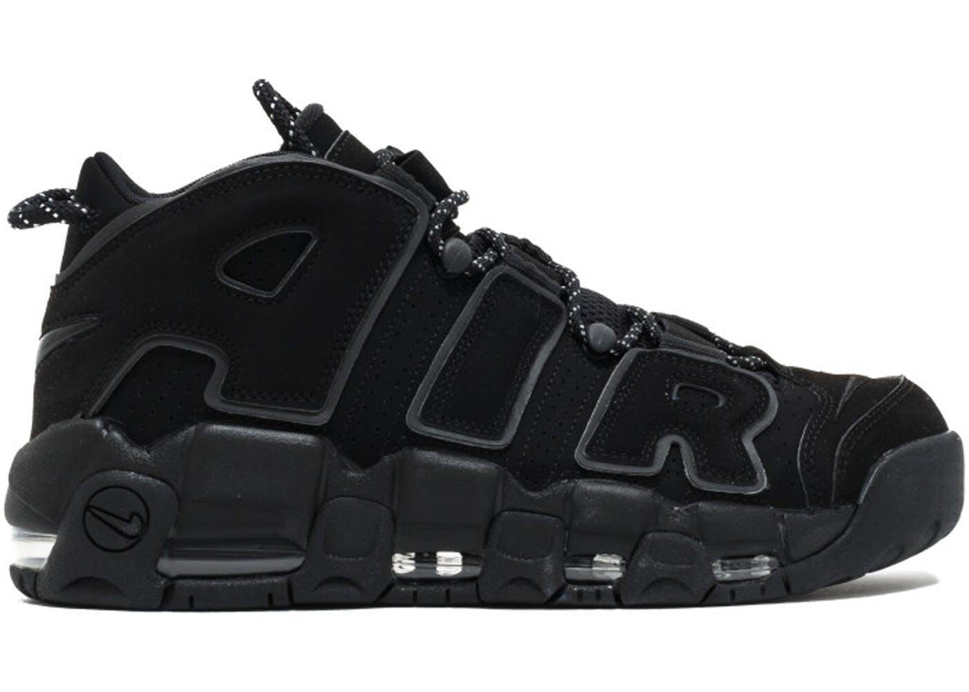 Black Nike Air Uptempo