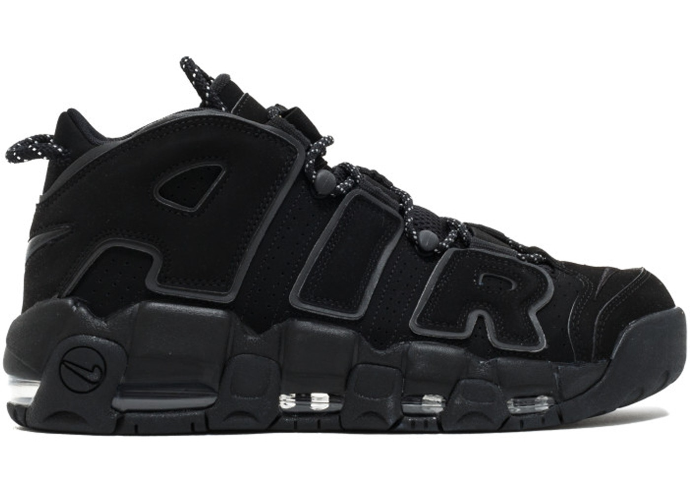 2acaa572c36 Air More Uptempo Black Reflective