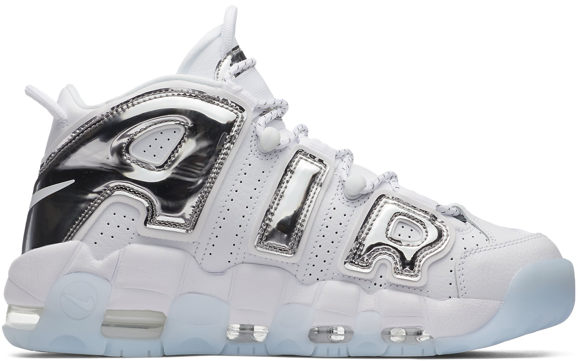 Air More Uptempo Chrome White (W)