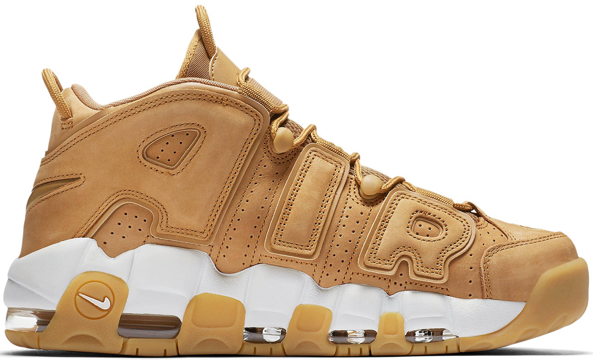 Air More Uptempo Flax