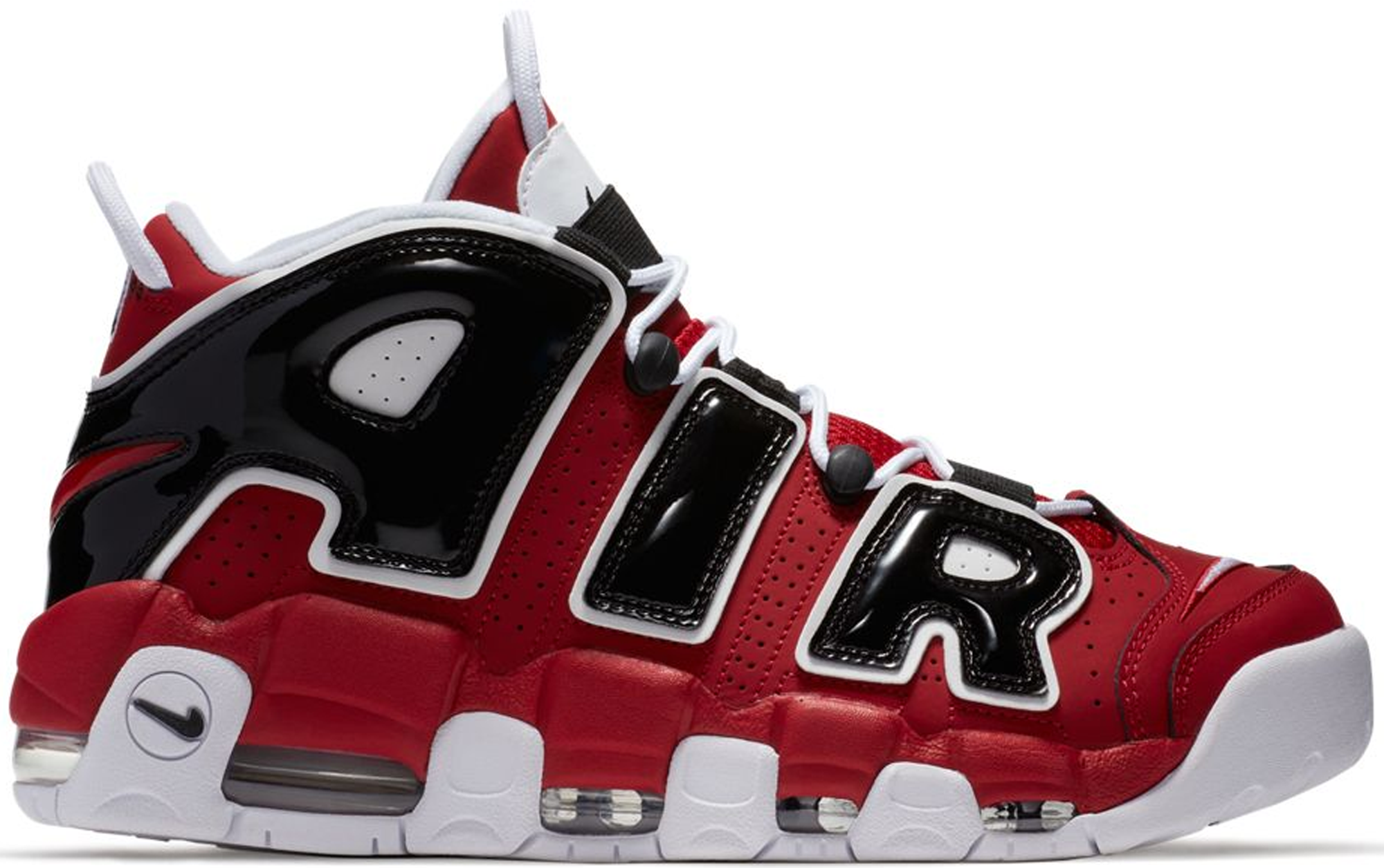 buy online 96fd2 4598a ... nike air more uptempo 07; Authentic Air Max 2016 Mens Shoe Red Black;  Excellent ...