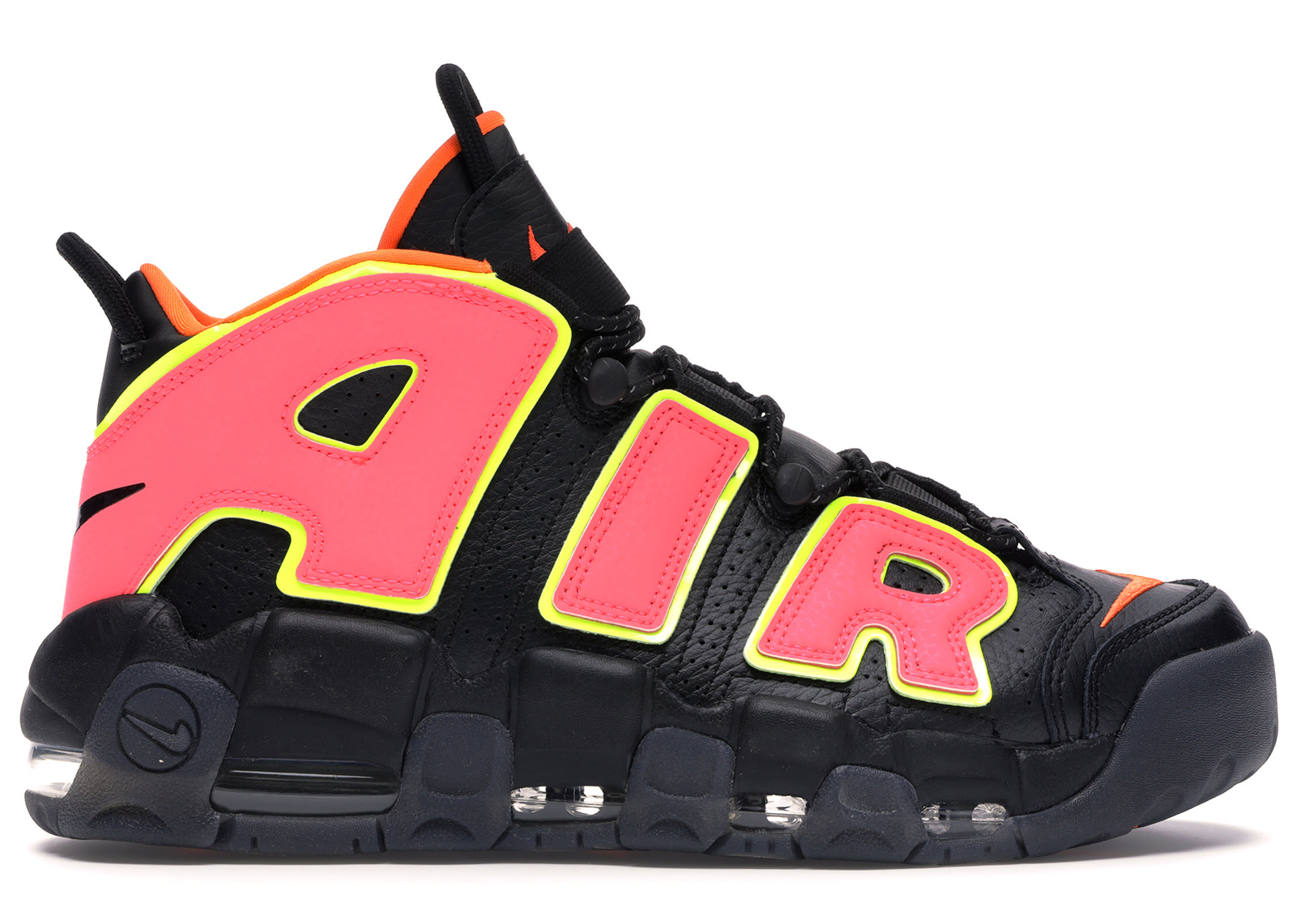Nike Air More Uptempo Hot Punch (W