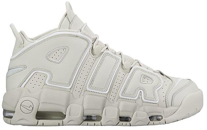 Air More Uptempo Light Bone