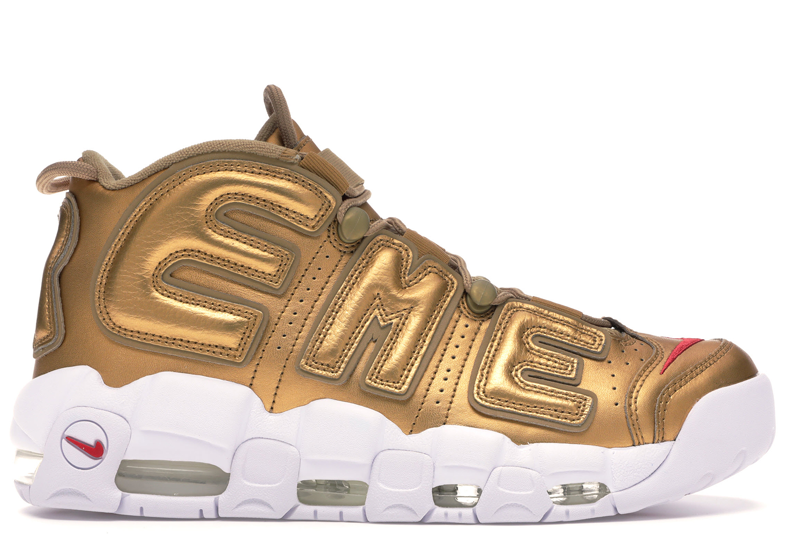 nike air max more uptempo Weiß