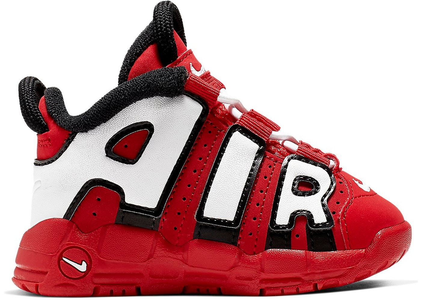 a5f1dc16 Air More Uptempo University Red Black White (TD) - CD9404-600