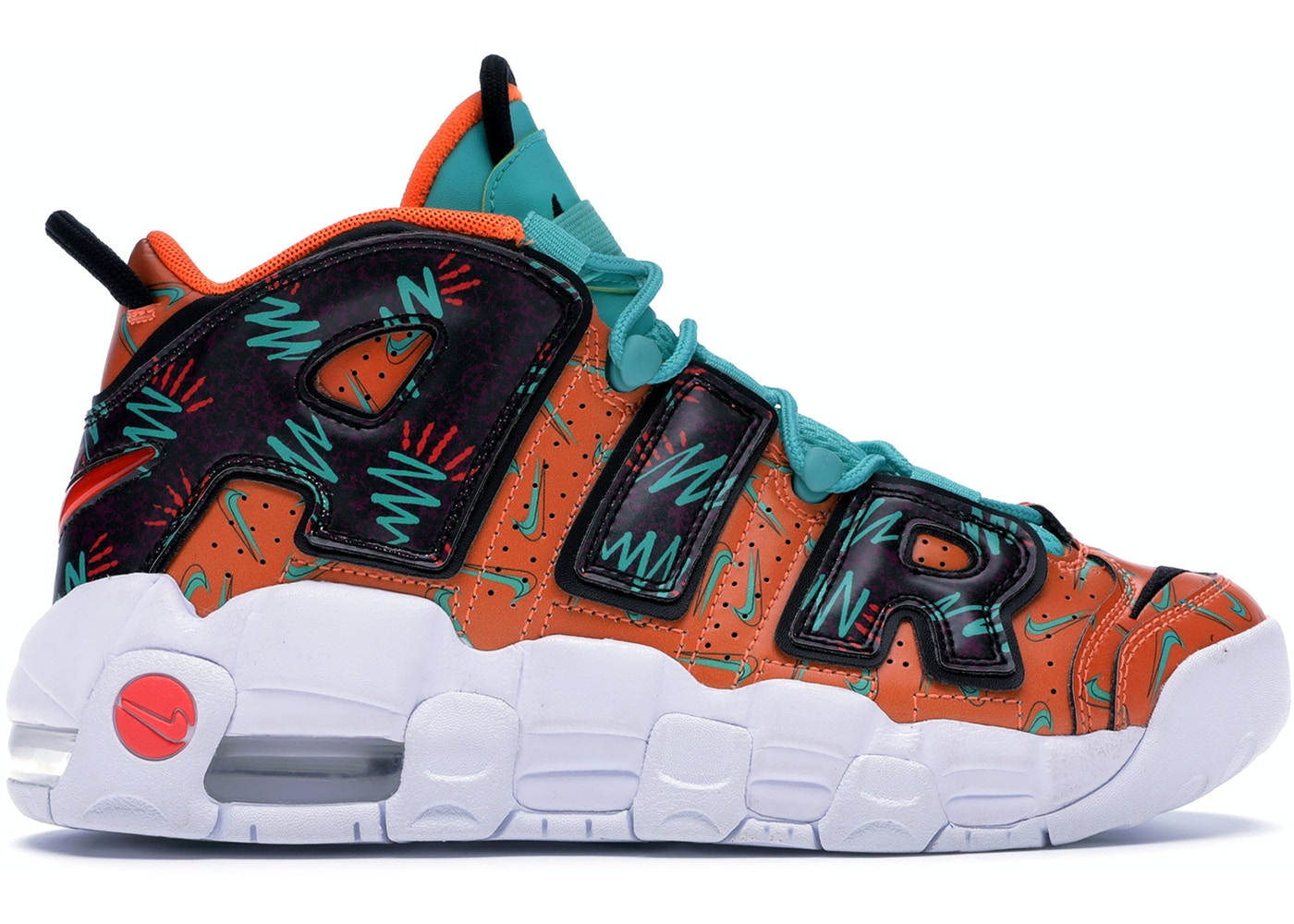 wholesale dealer bb2e0 e113c Air More Uptempo What The 90s (GS) - AT3408-800