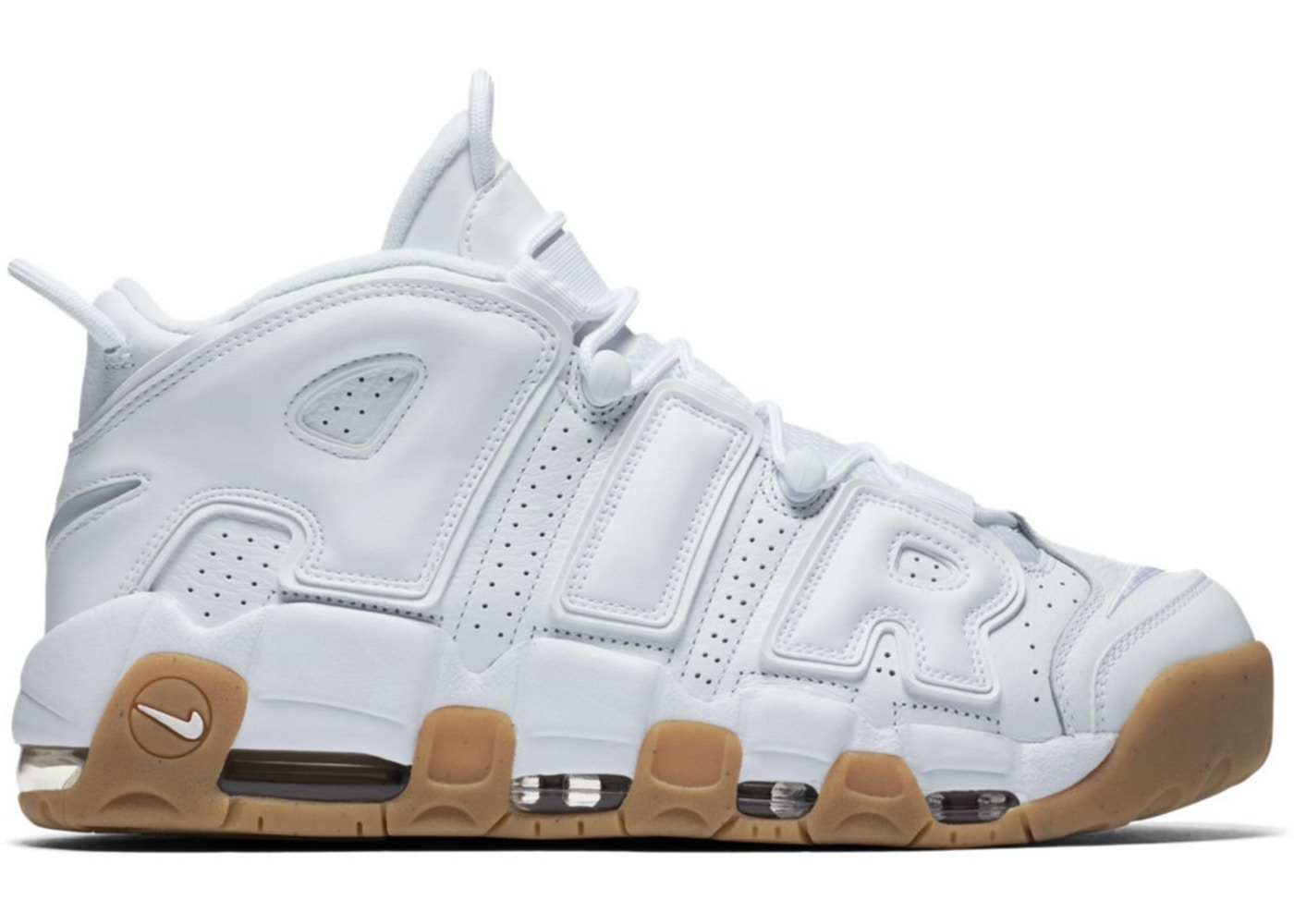 new styles baf90 f0cbc Air More Uptempo White Gum - 414962-103