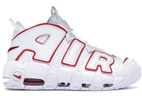 114c14336b86 Air More Uptempo White Varsity Red Outline - 921948-102