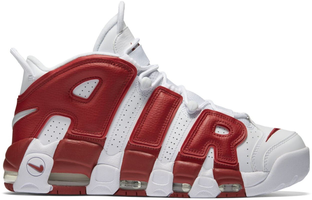 Air More Uptempo Varsity Red