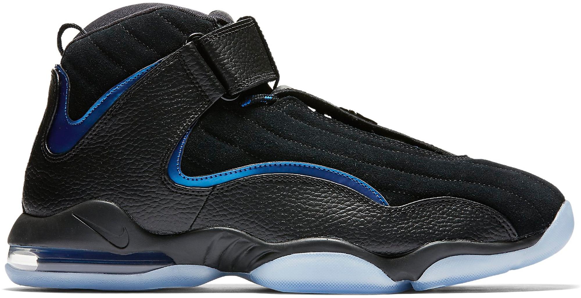 Nike Air Penny IV Black Atlantic Blue