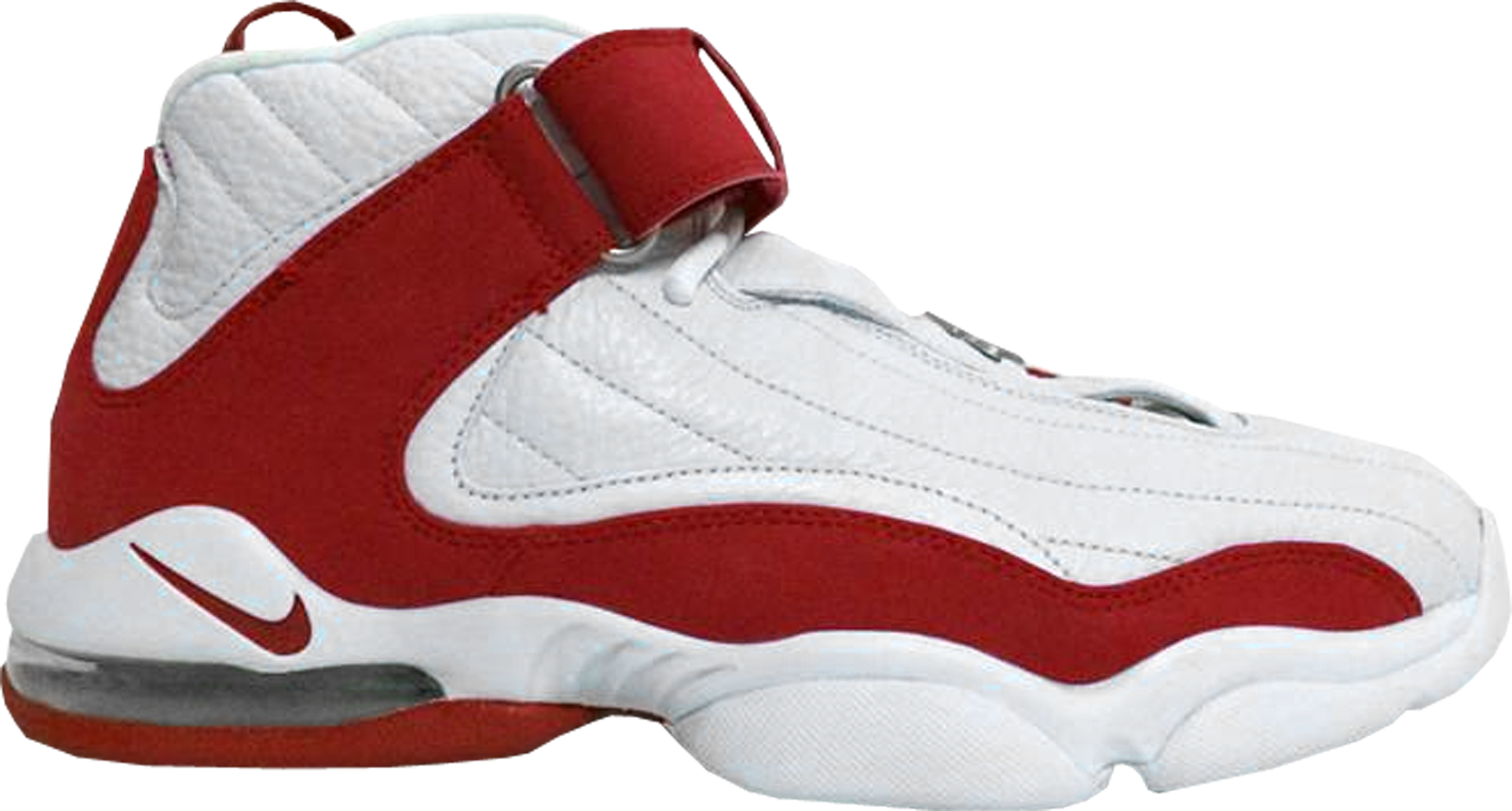 Nike Air Penny IV White Red - 312455-161