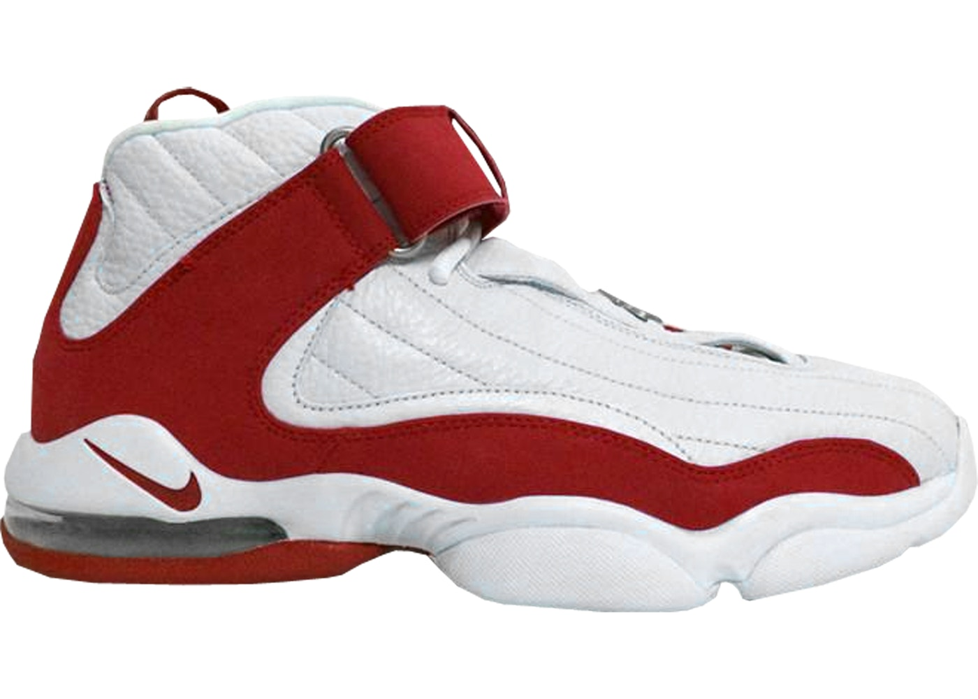 the best attitude 7863d 6b648 Air Penny IV White Red