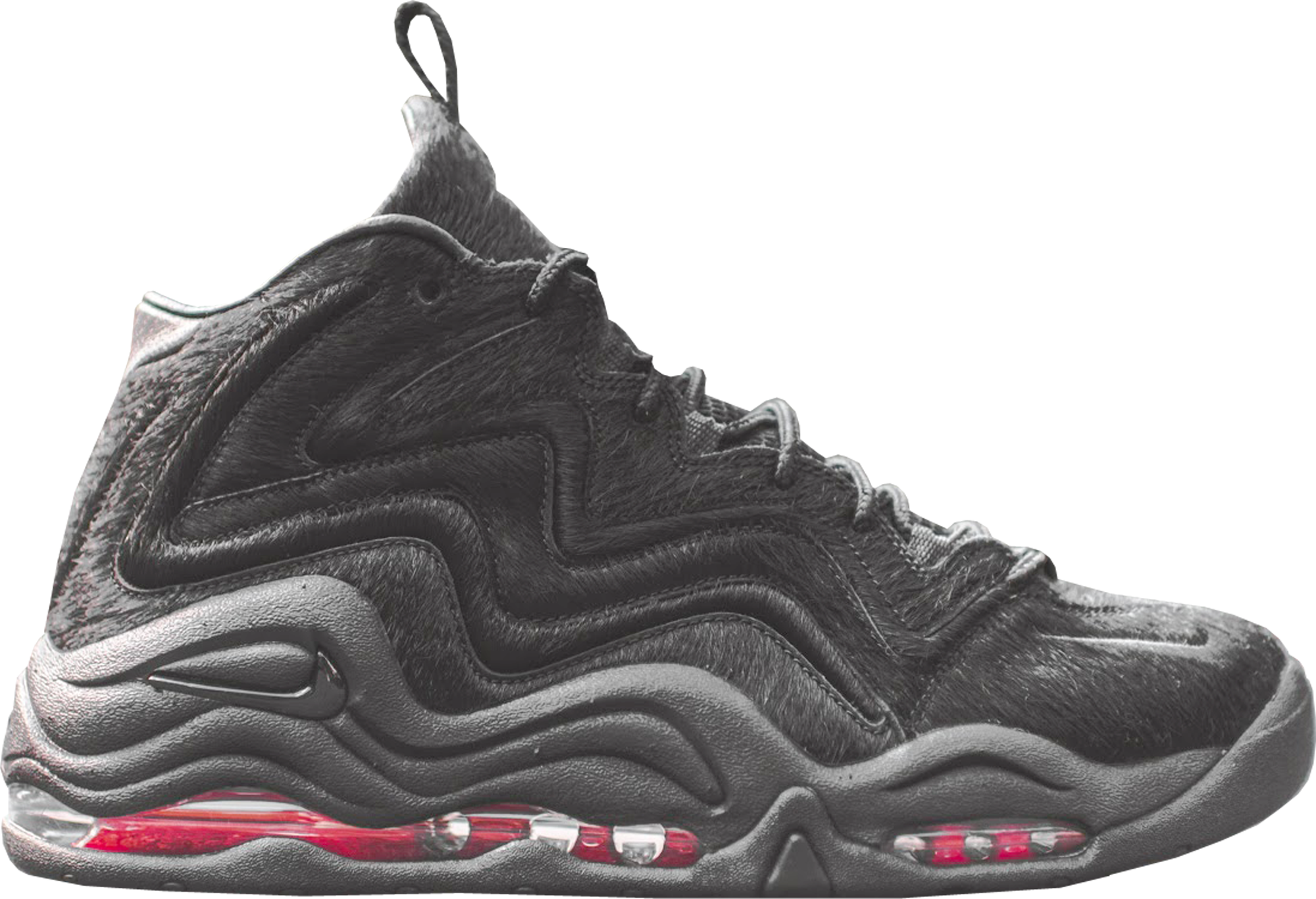 Air Pippen 1 Kith Black Pony Hair