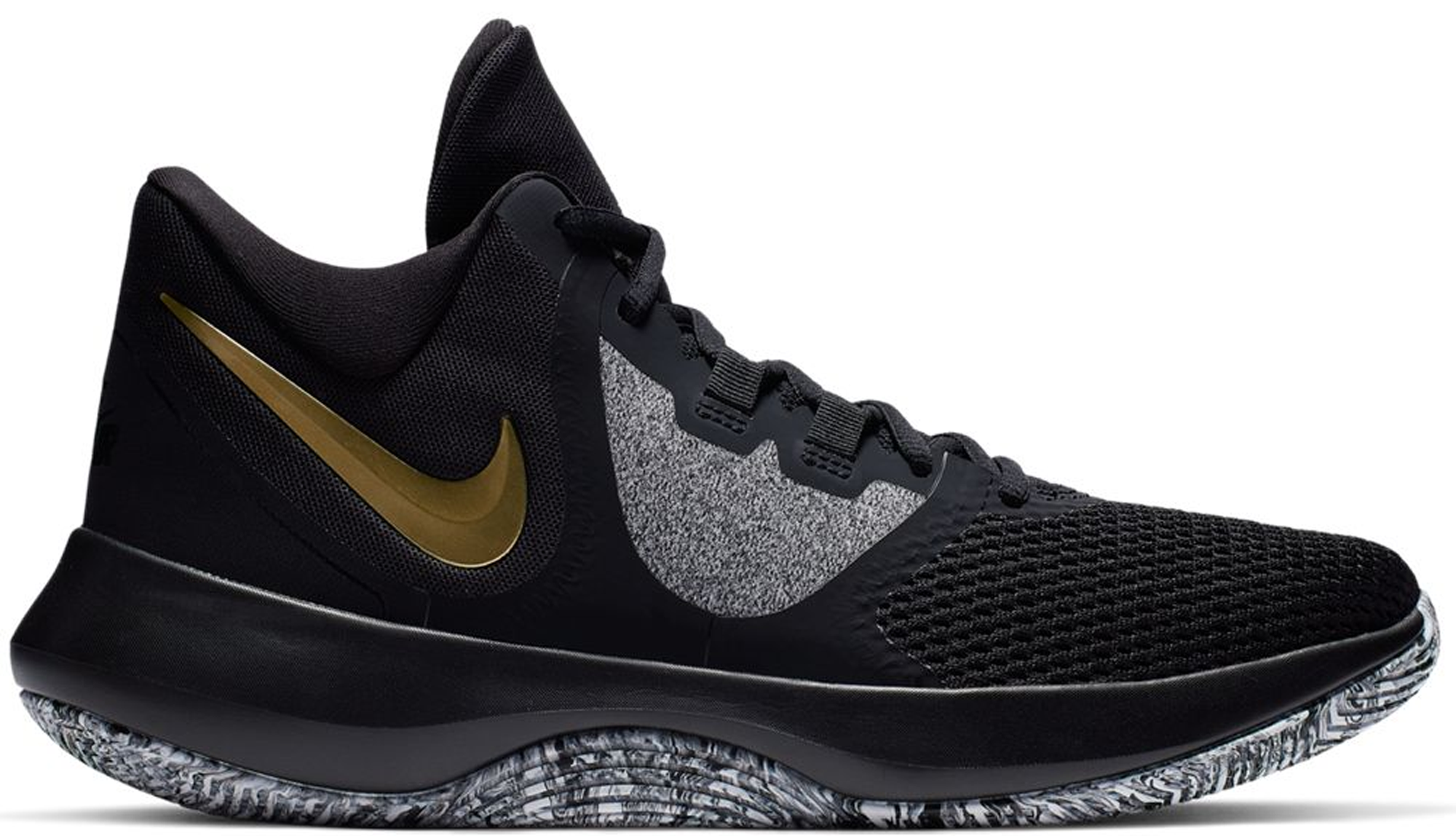 Nike Air Precision 2 Black Metallic