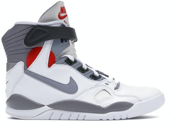 95000465 Nike Air Pressure Retro White Cement Grey (2016) - 831279-100