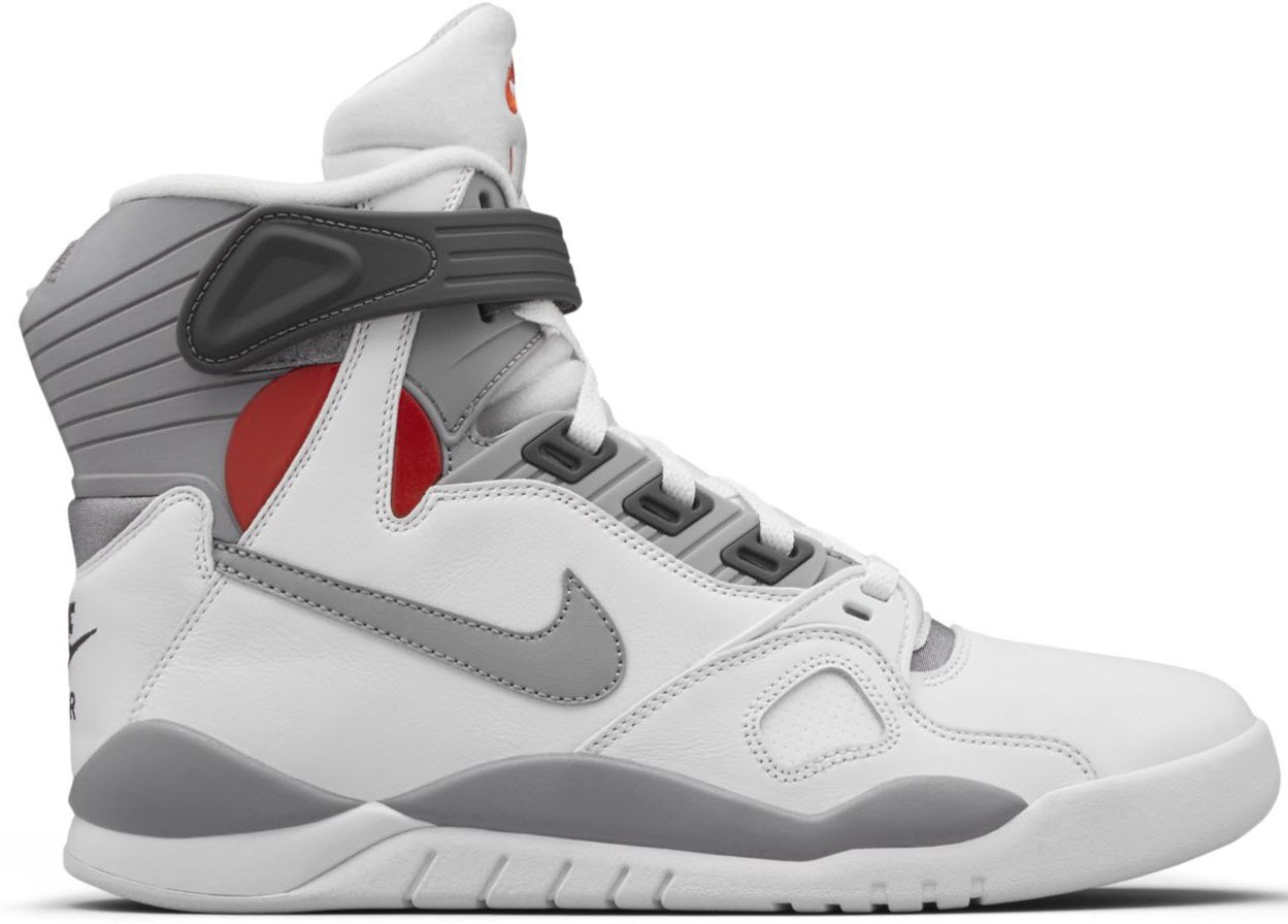 NEW NIKE AIR PRESSURE White Cement Grey Size 9.5 mens sneakers