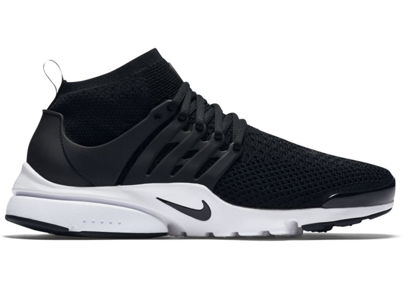 competitive price 2f37b 42540 Air Presto Flyknit Ultra Black White