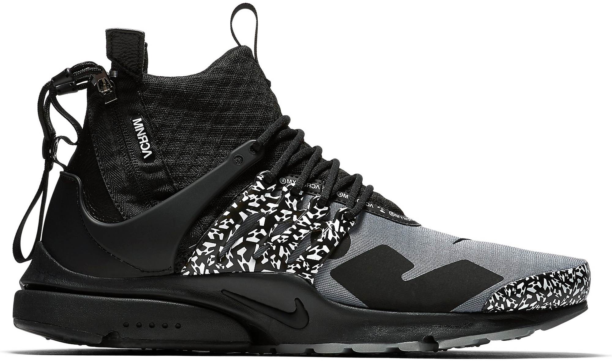 Air Presto Mid Acronym Cool Grey