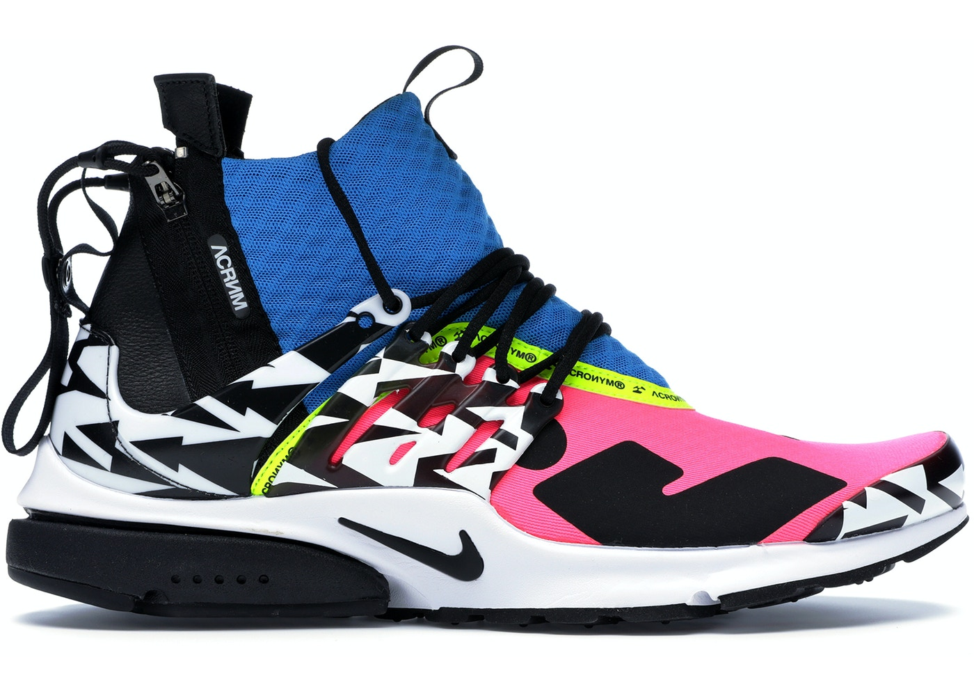 purchase cheap ff623 a73fb Air Presto Mid Acronym Racer Pink - AH7832-600