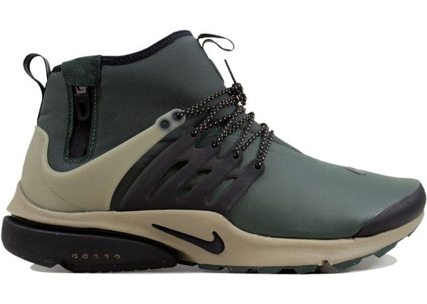 sale retailer ca66f 1156f Nike Air Presto Mid Utility Grove Green Black-Khaki - 859524-300