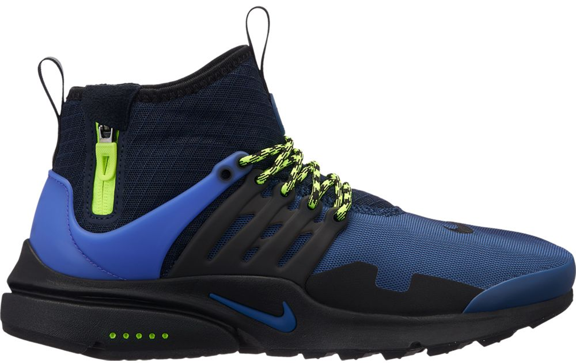 Nike Air Presto Mid Utility Navy Volt