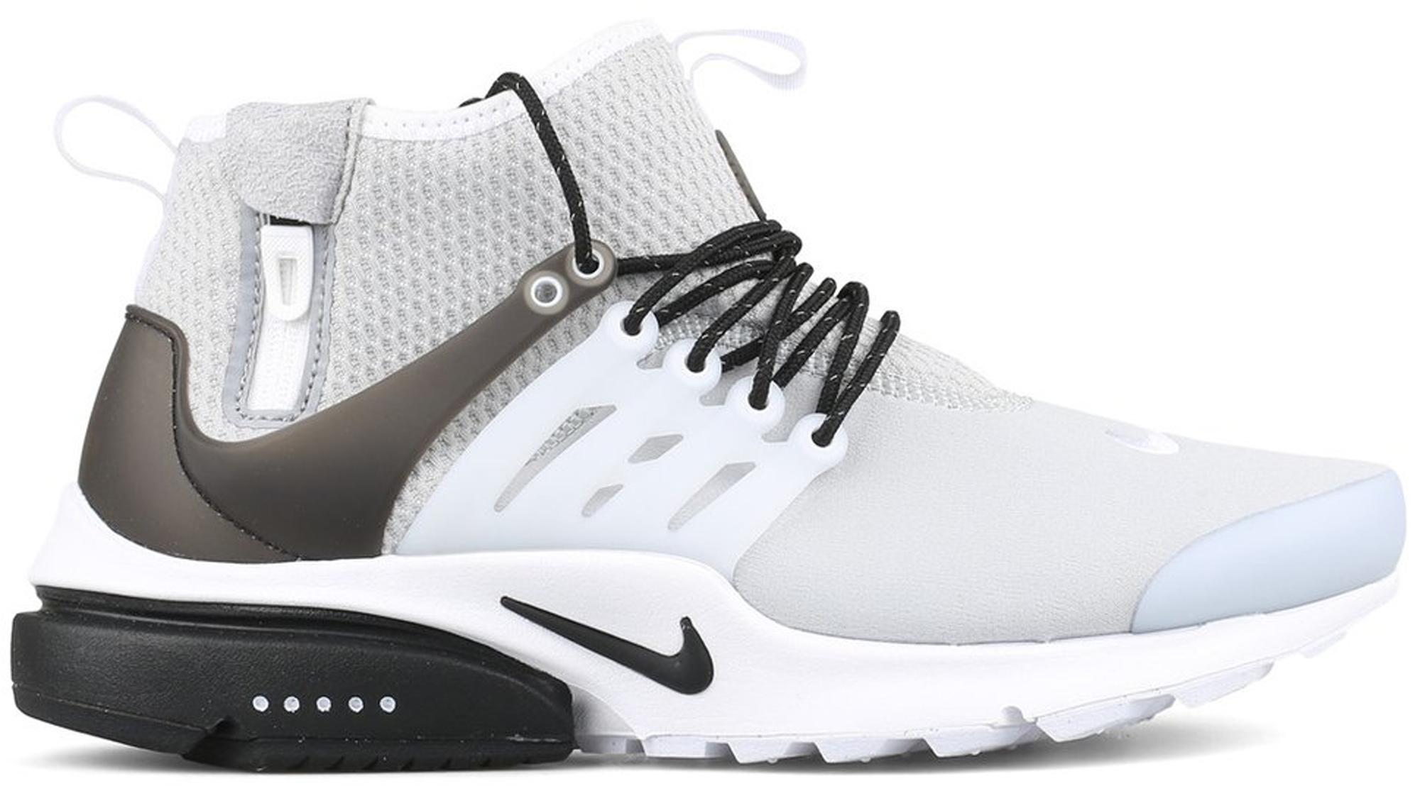 Nike Air Presto Mid Utility Wolf Grey
