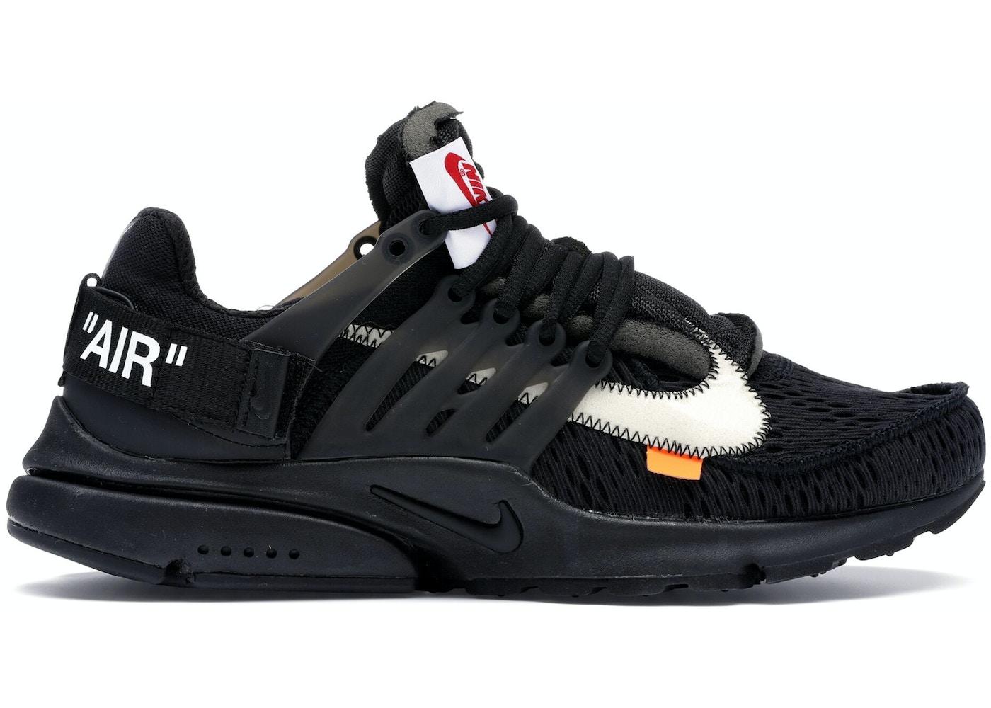 52bb00ce29bd Air Presto Off-White Black (2018)