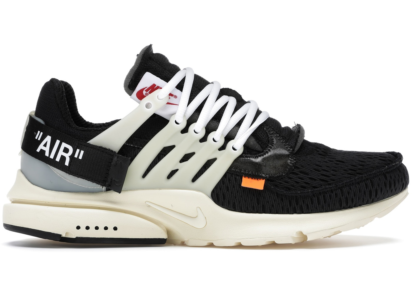 Air Presto Off-White - AA3830-001 0eb1e010e