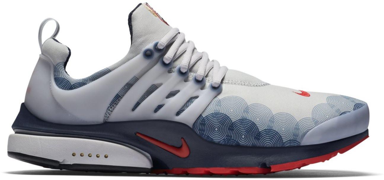 sale retailer lower price with authorized site Air Presto Olympic (2016) in Neutral Grey/Comet Red-Obsidian-Black