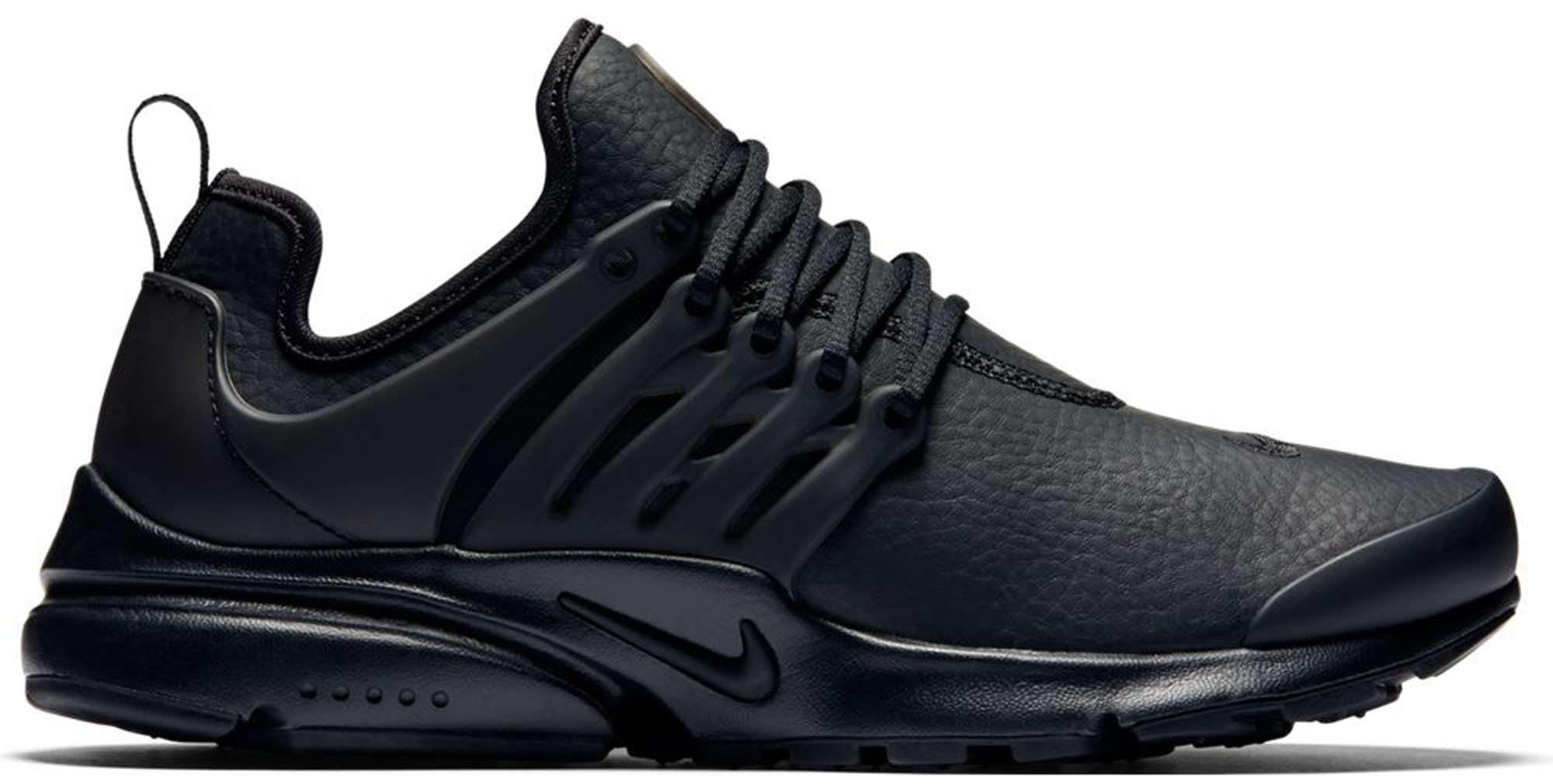 Nike Air Presto Premium Black Leather