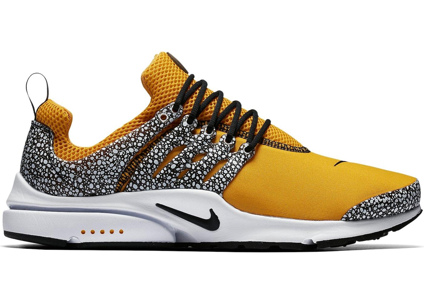 Nike Air Presto giallo