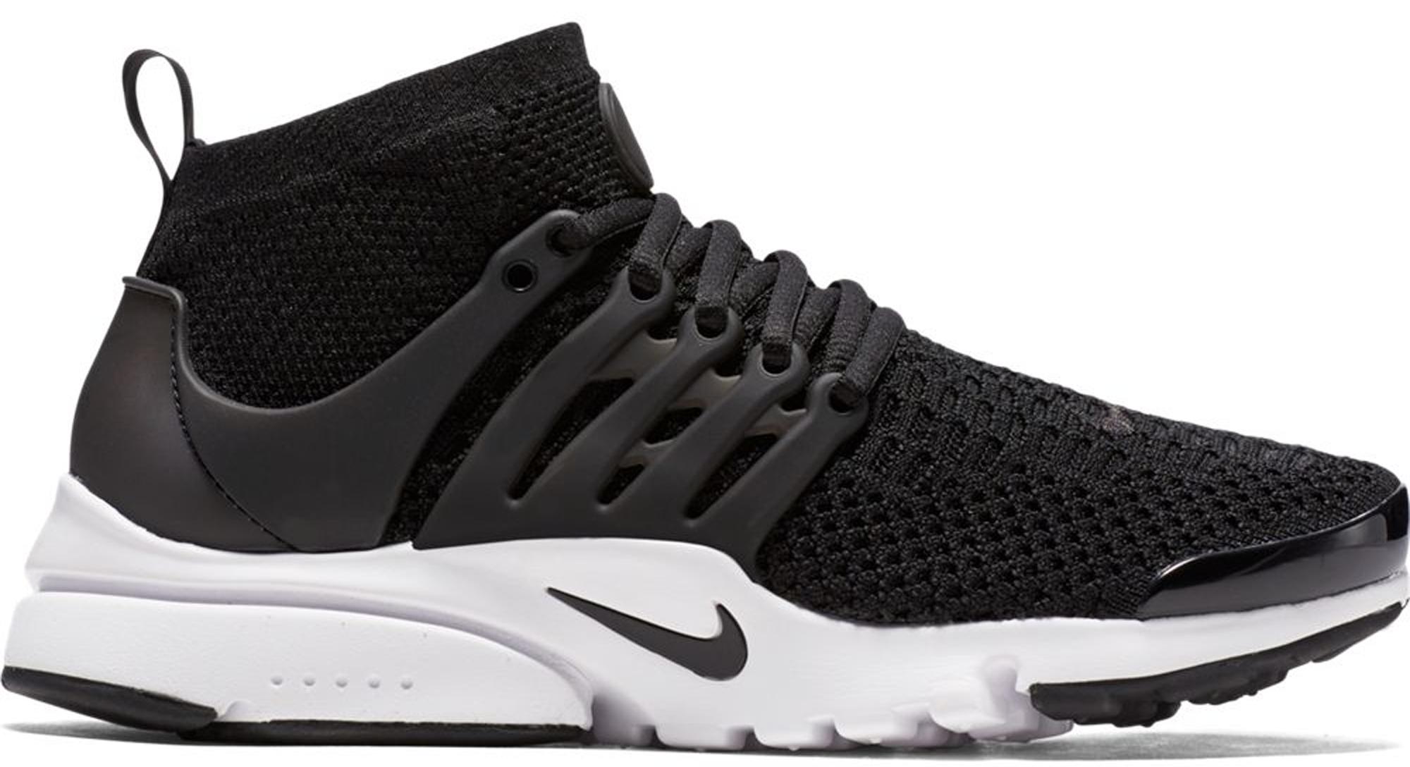 Nike Air Presto Ultra Flyknit Black (W