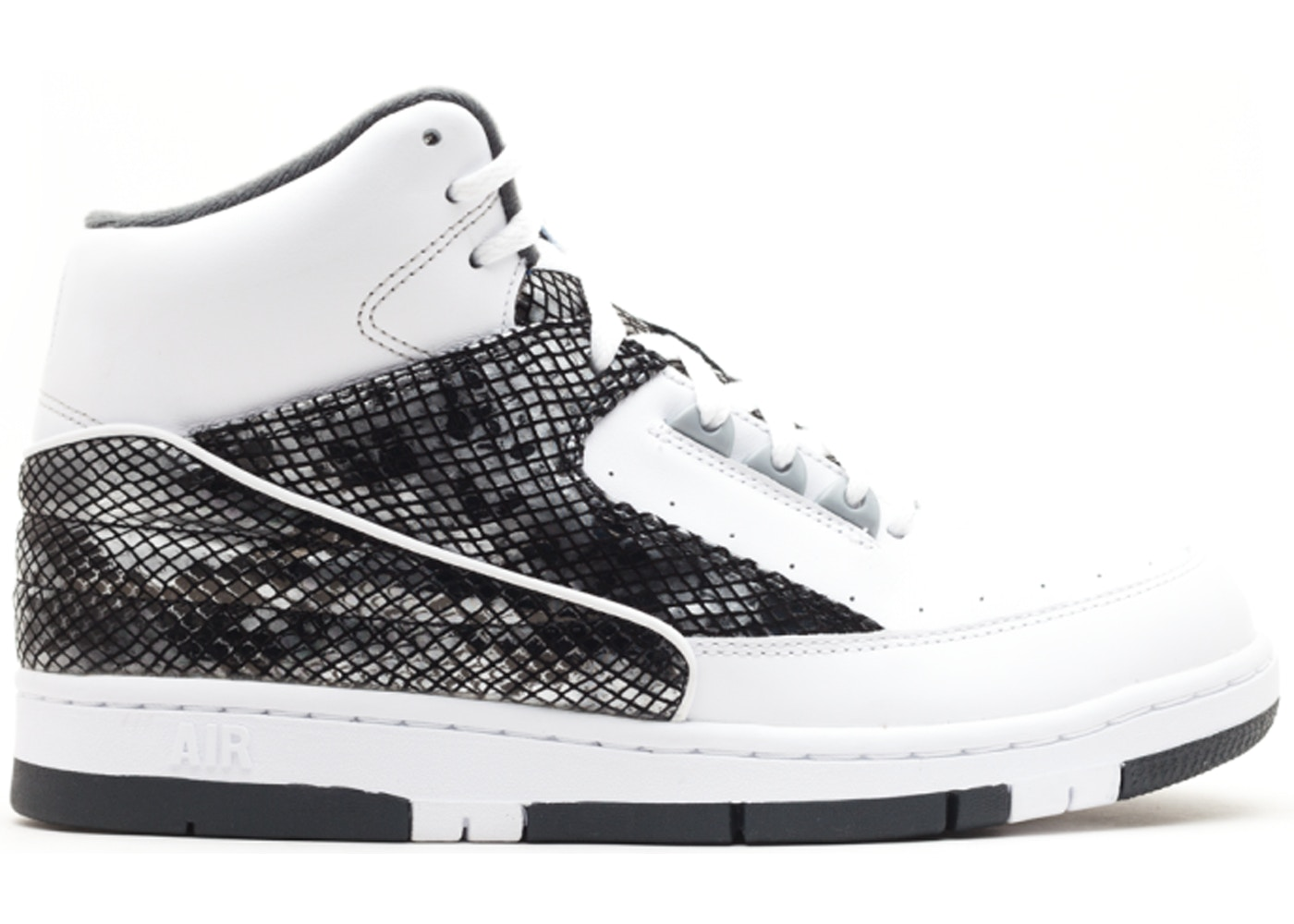 size 40 61323 a4a97 Air Python White Metallic Silver