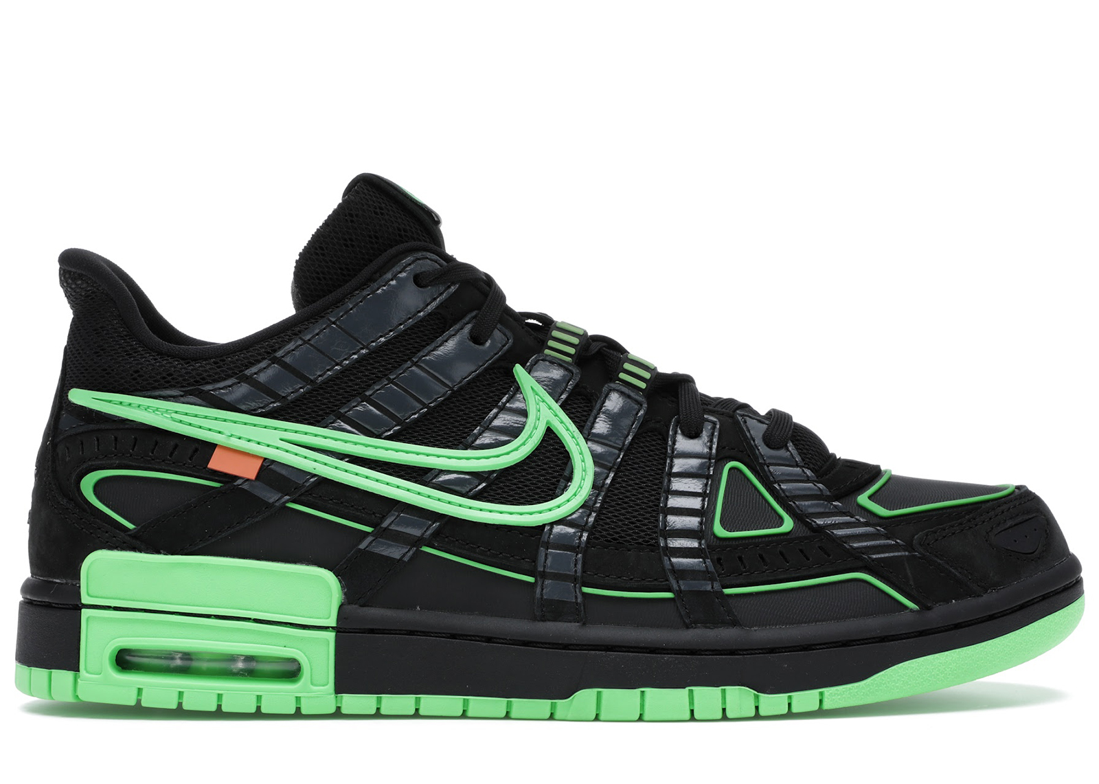 Nike Air Rubber Dunk Off-White Green