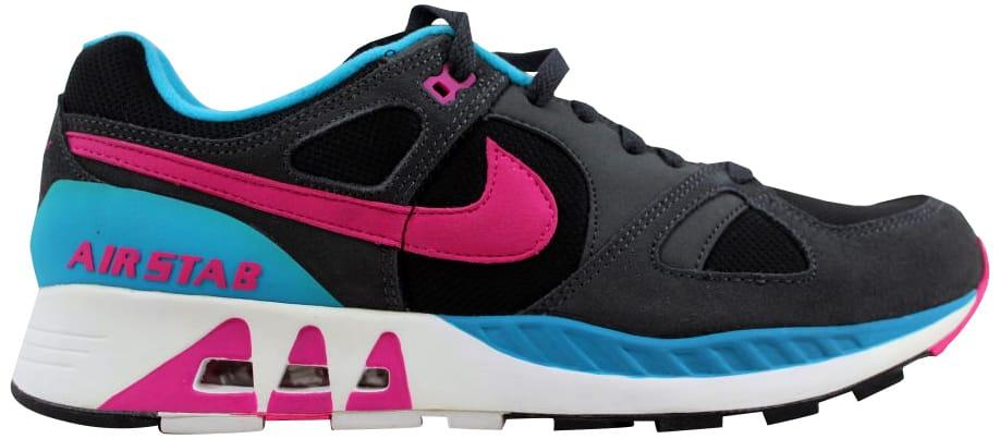 Nike Air Stab Black/Hot Pink-Anthracite