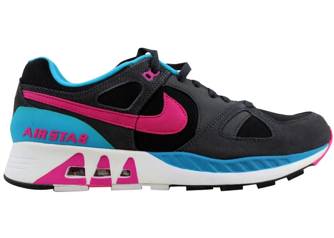a37dc2cd309f Nike Air Stab Black Hot Pink-Anthracite-Blue Lagoon - 312451-004