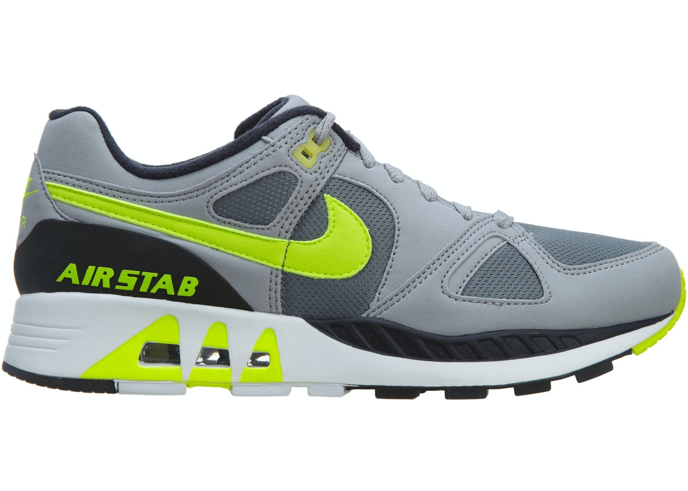 Nike Air Stab Cool Grey Volt-Wolf Grey-Anthrct - 312451-003 1499d0850