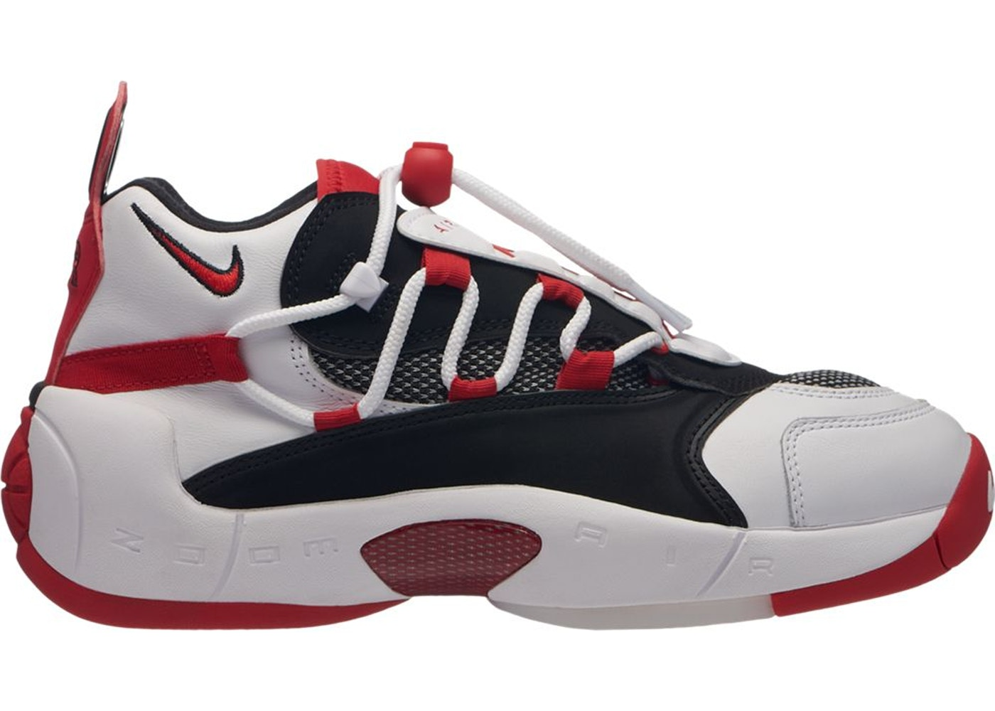 0a68f8f5 Air Swoopes 2 White Black Red (W) - 917592-100