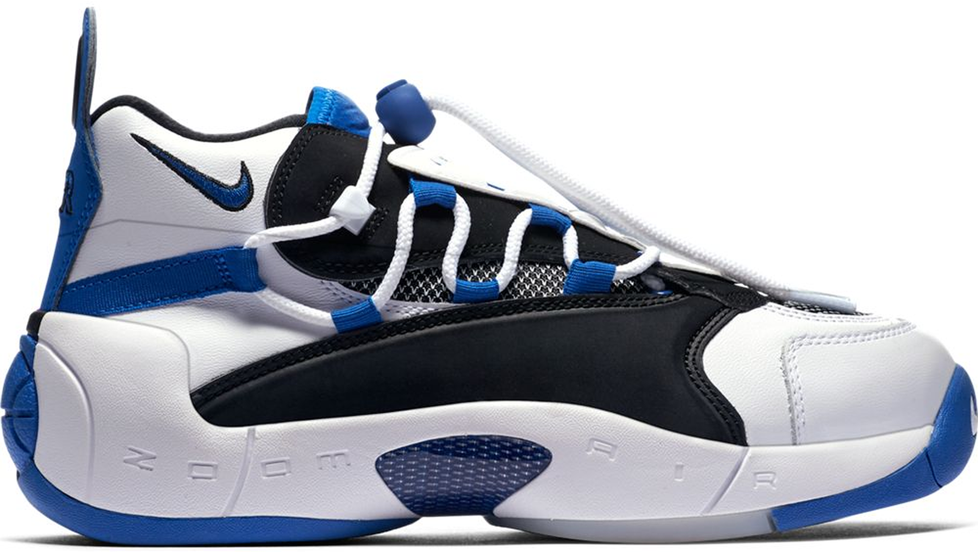 Air Swoopes 2 White Black Royal (W)