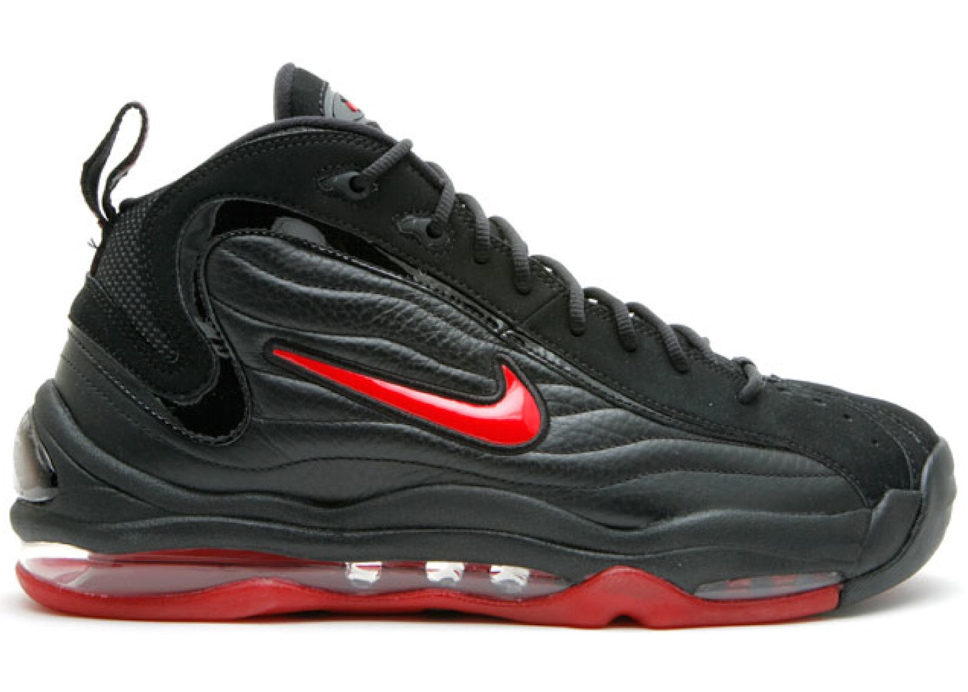 buy cheap d2feb c2bea Air Total Max Uptempo Black Varsity Red
