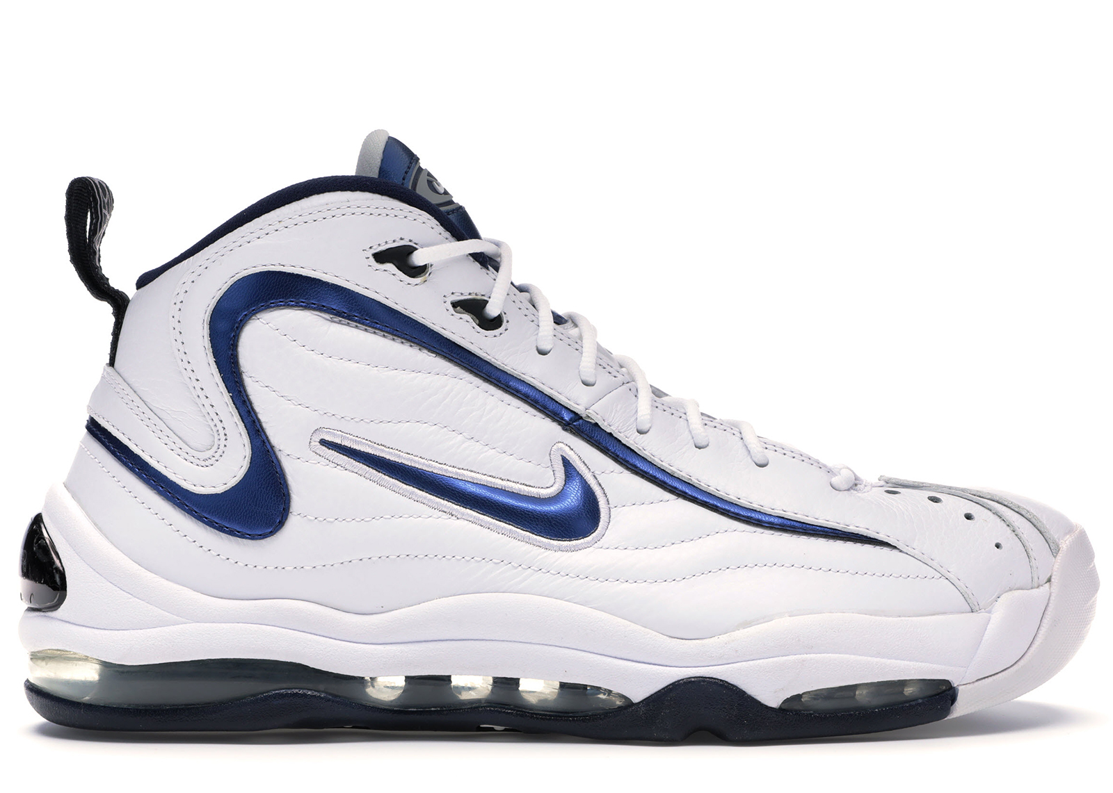 Nike Air Total Max Uptempo LE WhiteMidnight Navy,cheap