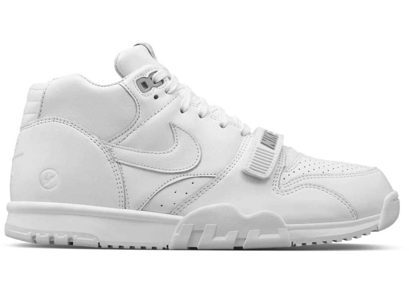 992683f88fd Air Trainer 1 Fragment Design White - 806942-110