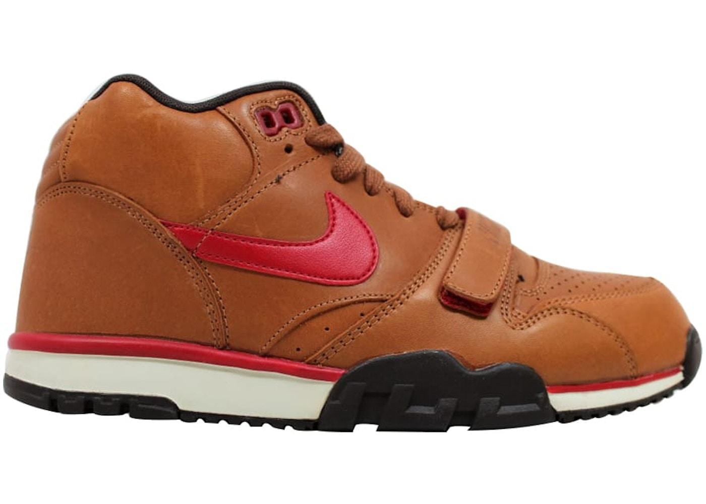 meilleure sélection d16d1 6447c Nike Air Trainer 1 Mid Premium Hazelnut/Gym Red-Baroque Brown-Birch
