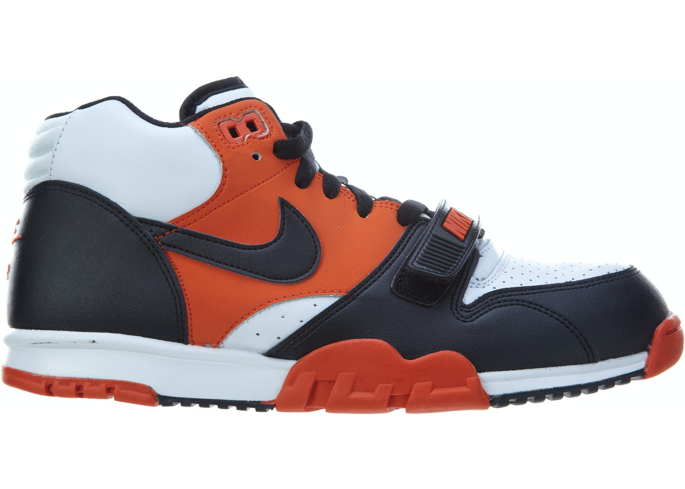 new product fd100 37569 Sell. or Ask. Size 10. View All Bids. Nike Air Trainer 1 Mid Team Orange Black-White
