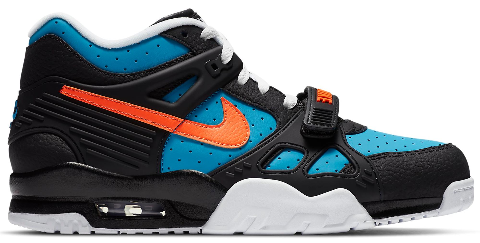 Nike Air Trainer 3 Black Total Orange