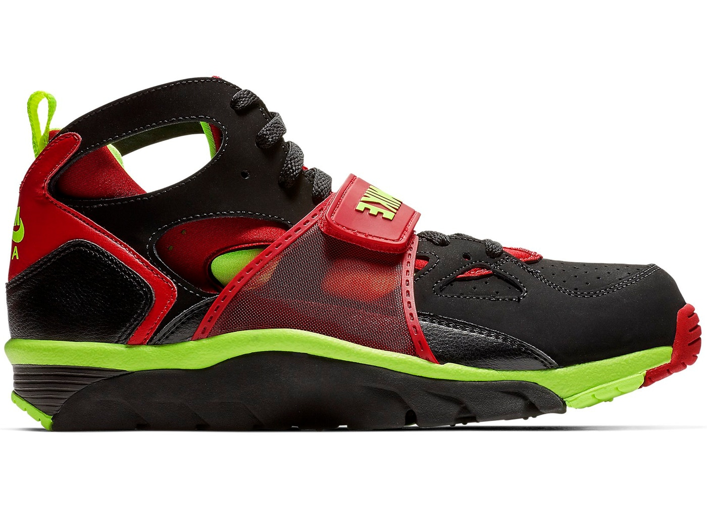 5be504437aaa Air Trainer Huarache Black Volt University Red - 679083-020