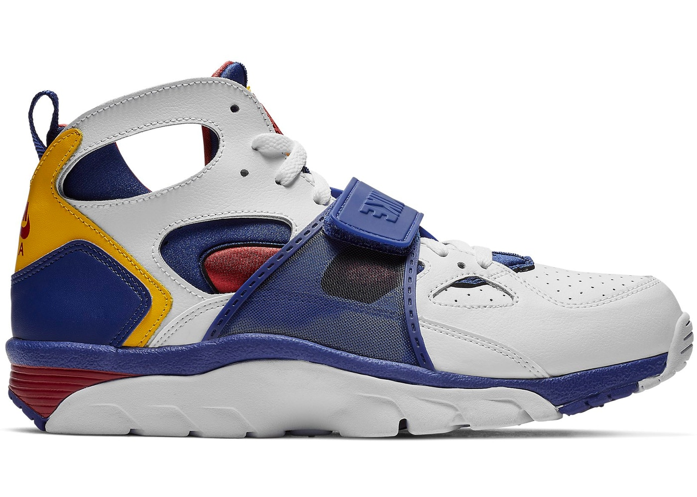 super popular 11a60 a81d1 Air Trainer Huarache White Regency Purple Amarillo - 679083-
